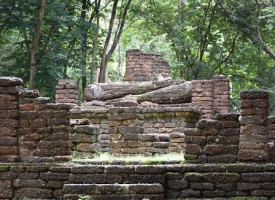 วัดริมทาง อุทยานประวัติศาสตร์กำแพงเพชร