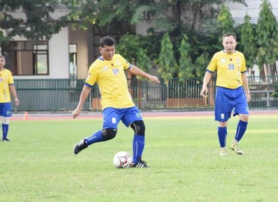 สิงห์โตเมืองกำแพง เปิดบ้านรับการมาเยือนของทีม VIP จังหวัดพิษณุโลก ในการแข่งขันฟุตบอลกระชับมิตร หัวหน้าส่วนราชการ