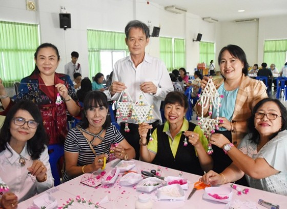 เปิดโครงการพัฒนาศักยภาพกลุ่มองค์กรสตรีในเขตเทศบาลเมืองกำแพงเพชร