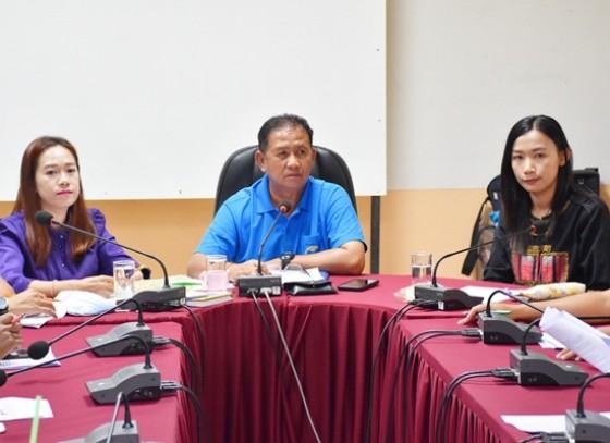 สำนักงานการท่องเที่ยวและกีฬาจังหวัดกำแพงเพชร จัดการประชุมการแข่งขันฟุตบอลเยาวชนและประชาชน รายการไทยแลนด์ไพรมิสเตอร์ คับ รอบคัดเลือกตัวแทนจังหวัดกำแพงเพชร ประจำปี 2562