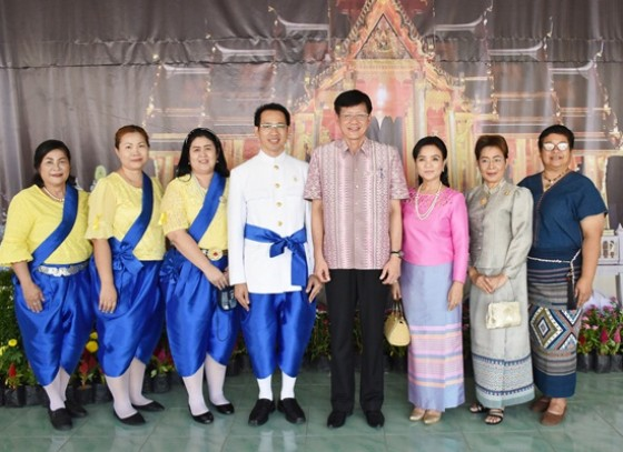 องค์การบริหารส่วนจังหวัดกำแพงเพชร จัดกิจกรรมวันครูท้องถิ่นไทยกำแพงเพชร ประจำปี 2562