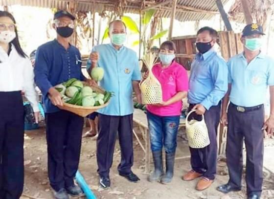 กำแพงเพชร-กลุ่มพัฒนาสตรีอำเภอพรานกระต่าย  จัดโครงการสตรีแบ่งปันรัก ปลูกพืชผักปลอดภัย เพื่อสร้างความั่�
